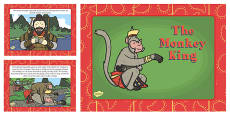 The Monkey King Story PowerPoint Presentation