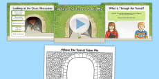 Where The Tunnel Takes Me - Predicting the Plot of The Tunnel Differentiated Lesson Teaching Pack to Support Teaching on The Tunnel