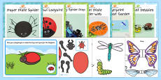 Top Ten Minibeasts Craft Activity Pack