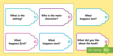 * NEW * Story Question Cards