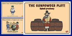The Gunpowder Plot Story Sequencing Polish Translation