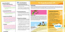 PlanIt - D&T LKS2 - The Great Bread Bake Off Planning Overview CfE