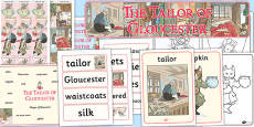 The Tailor of Gloucester Story Sack (Beatrix Potter)