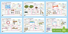 * NEW * Year 1 Spring 1 Maths Activity Mats Arabic/English