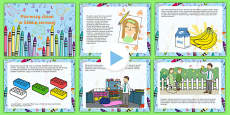 EYFS Starting Reception Editable PowerPoint Story Polish