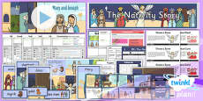 PlanIt - RE Year 3 - The Nativity Story Unit Pack