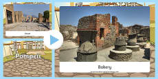 Pompeii Photo PowerPoint
