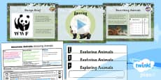PlanIt - Design and Technology UKS2 - Automata Animals Lesson 1: Amazing Animals Lesson Pack