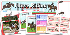 The Olympics Equestrian Resource Pack