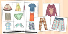 French Clothes 1 Picture Flashcards