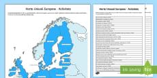 Harta Uniunii Europene Activitate