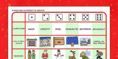 Poveste de Crăciun - Fișă de scriere