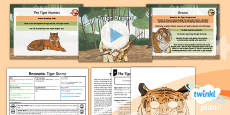 PlanIt Y6 Animals: The Tyger Lesson Pack Recounts 1