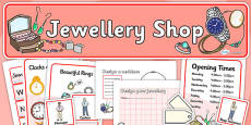 Jewellery Shop Role Play Pack