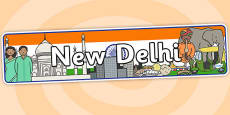 New Delhi Role Play Banner