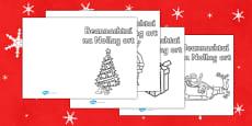Irish Christmas Card Templates