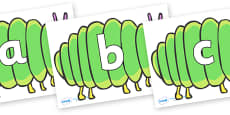 Phoneme Set on Fat Caterpillars to Support Teaching on The Very Hungry Caterpillar