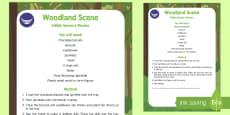 Woodland Scene Edible Sensory Recipe