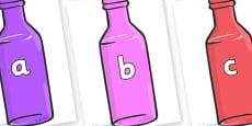 Phase 2 Phonemes on Bottles