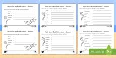 Nach dem Alphabet ordnen  Sommer Arbeitsblätter: Unterschiedliche Schwierigkeitsgrade