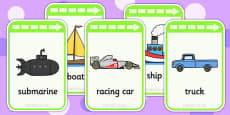 Transport Flashcards