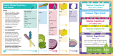 * NEW * EYFS Food Science Experiments Resource Pack