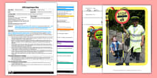 A Safer Crossing EYFS Adult Input Plan and Resource Pack