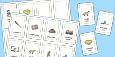 Three Syllable SCR Flash Cards
