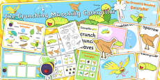 Story Sack to Support Teaching on The Crunching Munching Caterpillar