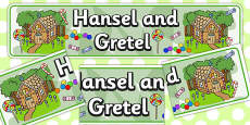 Hansel and Gretel Display Banner