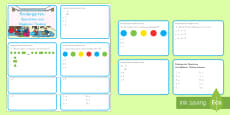 Kindergarten Operations and Algebraic Digital Assessment Practice Activity