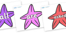 Tricky Words on Starfish to Support Teaching on The Rainbow Fish