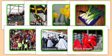 St David's Day Display Photos