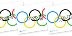 Next 200 Common Words on Olympic Rings