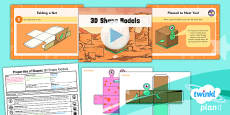 PlanIt Y3 Properties of Shape Lesson Pack Shapes (3)