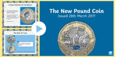 * NEW * The New Pound Coin PowerPoint