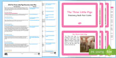 EYFS The Three Little Pigs Discovery Sack Plan and Resource Pack
