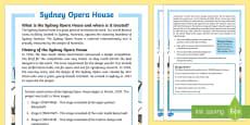 Sydney Opera House Fact File