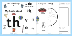 My Phase 3 Digraph Workbook (th)