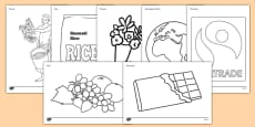 Fairtrade Colouring Sheets