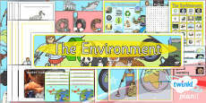 PlanIt - Science Year 2 - The Environment Unit Additional Resources
