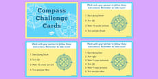 Compass Challenge Cards