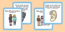 School Trip Rules Cards Polish Translation