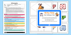 Alien Underpant Hunt EYFS Busy Bag Plan and Resource Pack to Support Teaching on Aliens Love Underpants