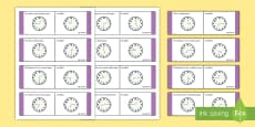 Time, Mixed Loop Cards Gaeilge