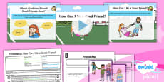 PlanIt - RE Year 1 - Friendship Lesson 2: How Can I Be a Good Friend? Lesson Pack