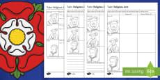 Tudor Religious Acts Activity Sheet