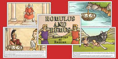 Romulus and Remus Story Romanian Translation