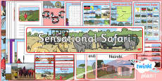 PlanIt - Geography Year 2 - Sensational Safari Unit Additional Resources