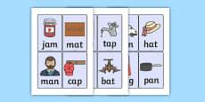 CVC Word Cards A